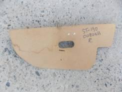 Багажный отсек. Toyota Corona, ST190