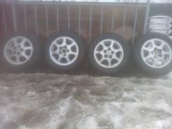 Продам колеса r15 5x114.3 с резиной нордман зима шипы 195х65 бу сезон. 5x114.30. Под заказ