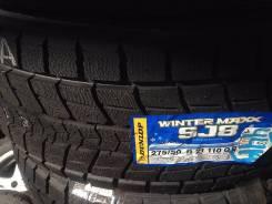 Dunlop Winter Maxx SJ8. Всесезонные, 2016 год, без износа, 4 шт