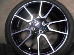 Оригинальные колёса Toyota VITZ G's тёмный металлик. 6.5x17 4x100.00 ET41 ЦО 54,0мм.
