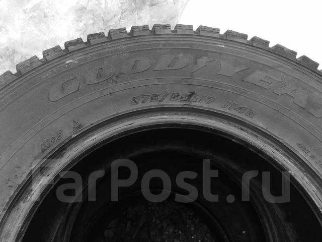 Goodyear Wrangler. Зимние, без шипов, износ: 30%, 4 шт