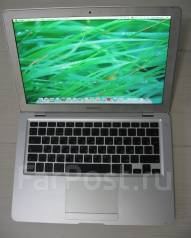 "Apple MacBook Air 13 2008 Early MB003. 13.3"", 1,6ГГц, ОЗУ 2048 Мб, диск 60 Гб, WiFi, Bluetooth, аккумулятор на 3 ч."