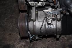 Компрессор кондиционера. Honda: Elysion, Odyssey, Accord, CR-V, Edix, Accord Tourer, Element, Stepwgn Двигатель K24A