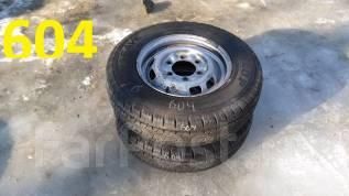 Продам пару грузовых колёс Dunlop Enasave VAN01 185R14LT 8PR. 5.0x14 6x139.70 ЦО 100,0мм. Под заказ