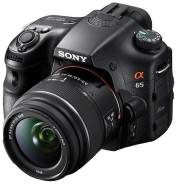 Sony Alpha SLT-A65 Kit. 15 - 19.9 Мп, зум: 10х