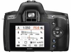 Sony Alpha DSLR-A290 Kit. 10 - 14.9 Мп, зум: 3х