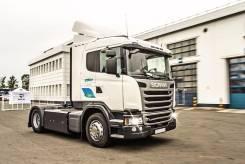 Scania. Газовый тягач G340 4x2 CNG, 9 000 куб. см., 20 000 кг.