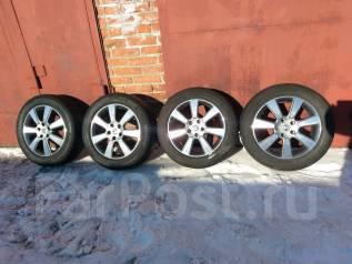 Продам отличный комплект колес 215 /60 R17 Ноккиан на Литых Дисках. 7.0x17 5x114.30 ET45