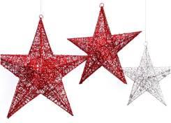 Елочные звезды.