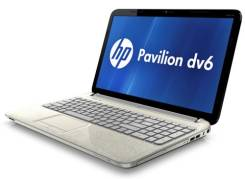 "HP Pavilion dv6. 15.6"", 1,6 ГГц, ОЗУ 6144 МБ, диск 500 Гб, WiFi, Bluetooth"
