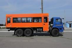 Камаз. Вахтовый автобус КамАЗ, 8 000 куб. см., 26 мест
