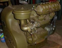 Двигатель в сборе. Ульяновец