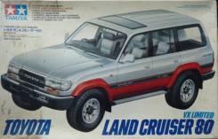 Сборная модель 1/24 Toyota Land Cruiser VX80
