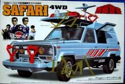 Сборная модель 1/24 Nissan Safari