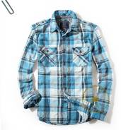 Мегастильнная Фланелевая Рубашка Guess. 54, 56
