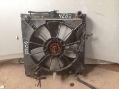 Радиатор охлаждения двигателя. Suzuki Jimny, JB23W Двигатель K6A