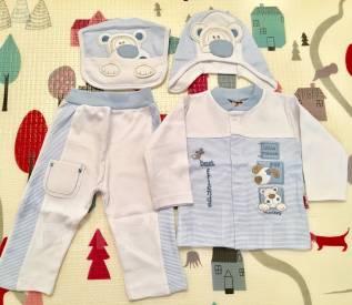 Наоядный набор одежды для малыша. Рост: 68-74 см