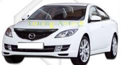 Дефлектор капота. Mazda Mazda6, GH Двигатели: MZR, L813, LF17, MZRCD, R2BF, L5VE, R2AA, MZRDISI, LFDE