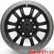 Black Rhino. 8.0x16, 6x139.70, ET10, ЦО 110,1мм.