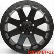 Black Rhino. 9.0x20, 5x150.00, ET12, ЦО 110,1мм.