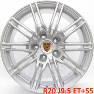 """Porsche. 9.5x20"""", 5x130.00, ET55, ЦО 71,6мм."""