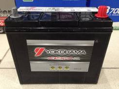 Yokohama Batteries. 55 А.ч., левое крепление, производство Япония