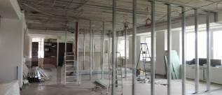 Профессиональный монтаж перегородок, стен, потолка из гипсокартона ГКЛ