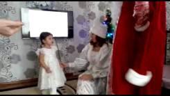 ДЕД Мороз и его внучка Снегурочка