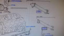 Приемная труба глушителя. Toyota Land Cruiser, VDJ200 Двигатель 1VDFTV