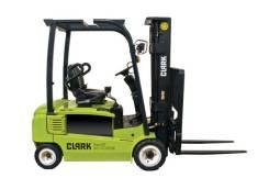 Clark GEX16. Вилочный электрический погрузчик Clark GEX 16 мачта от 4,78 м, 100 куб. см., 1 600 кг.