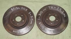 Диск тормозной. Subaru Legacy, BL, BP