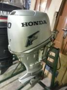Honda. 30,00л.с., 4х тактный, бензин, нога S (381 мм), Год: 2006 год
