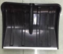 Лопата для уборки снега пластик, метал.окантовка 258BD-1-155