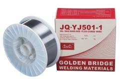 Проволока сварочная порошковая JQ.YJ501-1 (E71T-1C) ф 1,2 мм (15кг) (Golden Bridge)