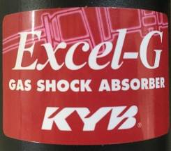 Амортизатор. Toyota Hilux, KUN26, KUN36, KUN25, KUN35, TGN36, TGN26, GGN25, LAN35, LAN25 Toyota Fortuner, KUN60, KUN50, KUN61, KUN51, GGN50, TGN61, LA...