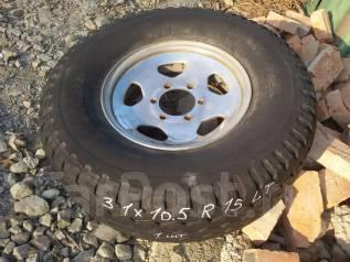 Одно колесо 31 x 10.5 R15 LT Bridgestone. Отправлю в регионы. 6.0x15 6x139.70 ET35 ЦО 110,0мм.