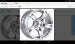 Комплект колёс на НИВУ, ШЕВИ-НИВУ. 6.5x15 5x139.70 ET40 ЦО 98,0мм.