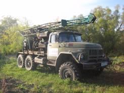 ЗИЛ 131. Буровая установка угб 50 на базе вездеход, 2 500 куб. см., 5 000 кг.