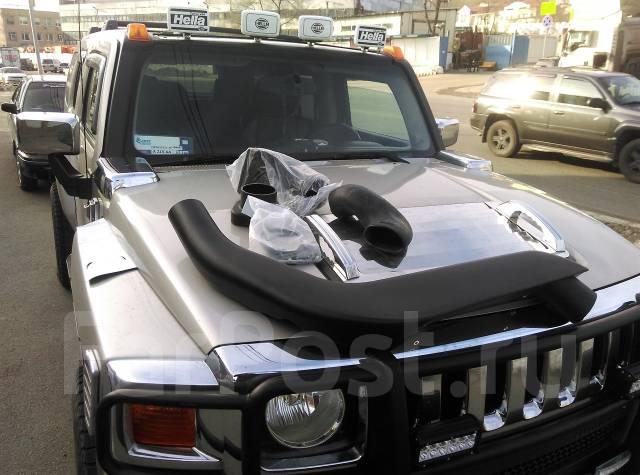 Шноркель. Hummer H3