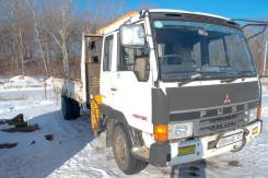 Mitsubishi Fuso. Продам грузовик с манипулятором , 7 500 куб. см., 5 000 кг.