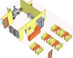 Дизайн-проекты магазинов, кафе (расчет оборудования и его поставка)