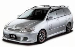 Обвес кузова аэродинамический. Toyota Corolla Fielder, CE121G, ZZE122, ZZE123, ZZE124, NZE121G, NZE124G, ZZE124G, ZZE123G, ZZE122G, NZE124, NZE120, NZ...