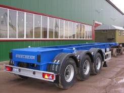 Steelbear. Полуприцеп контейнеровоз под 1 х 20'' танк-контейнер , 34 000 кг. Под заказ