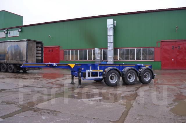 Steelbear. Полуприцеп контейнеровоз под 1 х 20'' танк-контейнер , 34 000кг. Под заказ