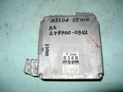 Блок управления двс. Mazda Demio, DW3W Двигатель B3E