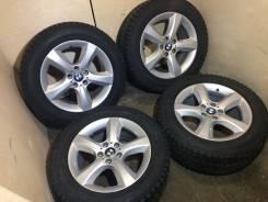 Комплект оригинальных колёс BMWe70 210 стиль резина Yokohama255/55/18. 8.5x8 ET46