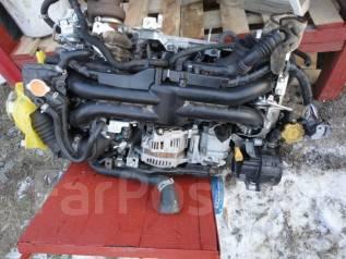 Двигатель в сборе. Subaru Forester, SH5, SH Двигатель EJ205