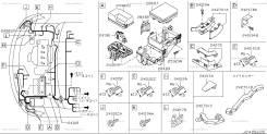 Проводка двс. Nissan Serena, C25, CNC25, NC25, CC25 Двигатель MR20DE