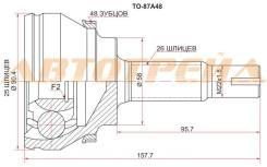 Шрус наружний TO-87A48 TY Avensis AT25#, 1AZ-2AZFSE, 03-08 TO-87A48 43420-05332 43410-05381 43420-05360 43420-05331 43410-05420