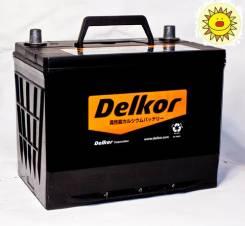 Delkor. 75 А.ч., правое крепление, производство Корея